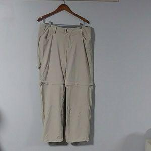Columbia, omni shield, women's zip off pant